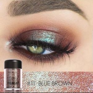 FOCALLURE LOOSE PIGMENT BLUE/BROWN